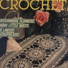 Decorative Crochet Magazine Number 13 January 1990 Crocheted Doilies Patchwork Flowers