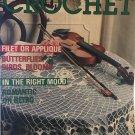 Decorative Crochet Magazine Number 18 November 1990 Crocheted Doilies Butterflies, Birds, Blooms
