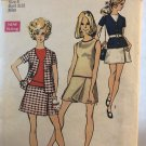 Simplicity 8700 Misses' MIni-Pantdress and unlined jacket size 8 Sewing Pattern