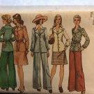 Simplicity 5742 Misses' Unlined smock-jacket, skirt & pants. Size 12