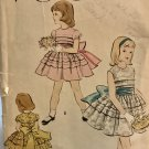 Vogue 2742 One Piece Dress and Slip size 5 Vintage 1956 sewing pattern