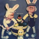 Easter Playthings to Crochet Pattern, bunny dolls and ducklings.