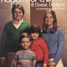 Leisure Arts 269 Knitted Raglans for Children 8 classic designs in worsted or sport yarns