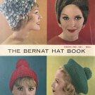Hats Berets Beanies Vintage Knitting Crochet Pattern Bernat Hat Book 101
