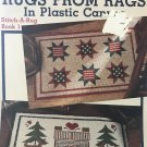 Rugs from Rags Plastic Canvas Stitch a Rug Leisure Arts 1454