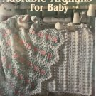 Adorable Afghans for Baby Leisure Arts 2421 five designs by Anne Halliday Crochet Pattern