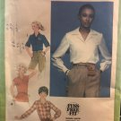 Simplicity 8715 Misses' Blouse and Tie Belt A Fuss-Free Fit Sewing pattern size 10
