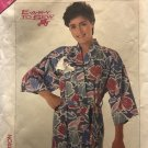 """Simplicity 0017 Jiffy Kimono Robe Easy to Sew Sewing Pattern bust size 30"""" to 42"""""""