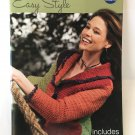 Coats & Clark Crochet & Knit Easy Style 11 crochet & knit projects for all skill levels pattern book