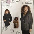 Petite Plus 203, Sewing Pattern for Wrap Jacket, Blouse 14-16-18-20-22-24