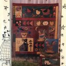 Meme's Quilts Dixie Chickens applique quilt wall hanging sewing pattern MQ#239