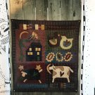 Meme's Quilts Salt Box Farm  applique quilt wall hanging sewing pattern MQ#367