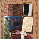 Meme's Quilts Chicks in Bloom applique towel and stitchery sampler sewing pattern MQ#321