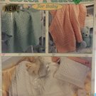 Pastel Patterns for Baby Afghans & Pillows to crochet Leisure Arts 2604 Crochet Pattern