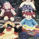 Friends at Play Dolls Crochet Pattern from 1984