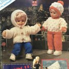 Dressing up for Dolls Knitting Pattern for clothes by Littlewoods 587