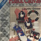 Country Goose Plastic Canvas Pattern Plaid 8158 Napkin Holder, Flyswatter, Wreath