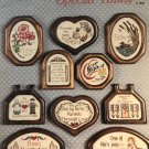 Special People Special Times Cross Stitch Pattern Cross my Heart designs by Melinda