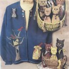 """Caught Up In Stitches Ks-207 Donna Kozera """"House Sitters"""" Sewing Pattern"""