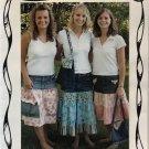 Recycled Denim Skirt & Purse Sewing Pattern Carolyn's Creative Designs