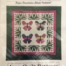 BALI BUTTERFLy  33 x 33  Wall Hanging  by Love Quilt Patterns