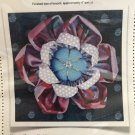 Kafflower Quilt/sew Pattern by Julie Stark Cotton Brooch or Embellishment La Todera