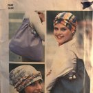 Simplicity 7359 Turban, Scarf and Tote Bag Sewing Pattern