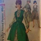 """Simplicity 5620 Junior and Misses' One-Piece Dress and Jumper Sewing Pattern size 12 bust 32"""""""