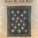 """Down by the Reef quilt pattern Happy Apple Quilts 46"""" x 37"""""""