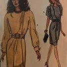 Vogue Sewing Pattern 8564 Mock Wrap Dress Size 18 20 22