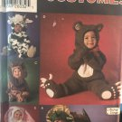 Toddler Costume Bear Cow Lion Bunny Dragon size 18 mos 1 2 3 4 Simplicity 5880 sewing pattern
