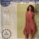 McCall's 9477 L9477 Misses Sew Simple Summer Dress Size XS - M Sewing Pattern