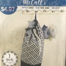 Mccalls Sewing Pattern 9623 L9623 laundry and drawstring bags one size