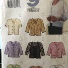 Butterick 3455 Unlined Jacket Pullover Top Sewing Pattern size 14 16 18