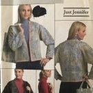 Butterick Pattern B4867 4867 Sewing Pattern Misses' Just Jennifer Jacket  and Bag size XSM to Medium