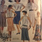 McCalls 2957 Misses' Skirts Six-gore, fitted & Flared Sewing Pattern Size Size 12