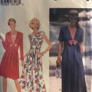 Simplicity 9618 Misses'  Summer Sailor Collar Dress Sewing Pattern Size 8 - 12