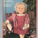 "Fibre Craft 13 ""Grandma Outfit FCM342 Sewing Pattern"