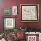 Merry Christmas Samplers Cross Stitch Pattern designs by Helene Halverson