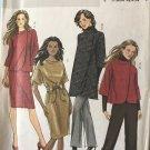 Butterick 5259 Misses' Wardrobe Pants, Jacket, Coat, Dress Sewing Pattern size 8-14