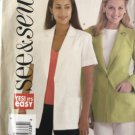 Butterick 4428 See & Sew Unlined Jacket sewing Pattern Size 20 22 24