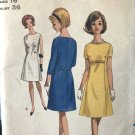 Butterick 4076 Misses' One-Piece Dress Semi Fitted A-line Sewing Pattern Size 16 bust 36