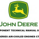 JOHN DEERE K SERIES AIR COOLED ENGINES COMPONENT TECHNICAL MANUAL CTM5 On CD