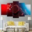 Jazz Wall Art Saxophone Canvas Framed Print Progressive Home Decor