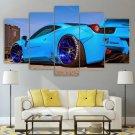 Ferrari 458 Italia Wall Art Canvas Framed Print Home Decor