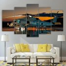 Sikorsky UH-60 Black Hawk Canvas Wall Art Framed Tactical Decor Framed Gift Idea 5 Piece