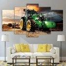 Agriculture John Deere Tractor Canvas Wall Art Framed Decor Framed Landscape