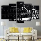 Fitness Wall Art Framed Workout Gym Home Decor Woman Sexy Canvas Motivational Painting