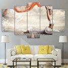 Yoga Canvas Framed Zen Home Decor Yoga Quote Wall Art Meditation Painting