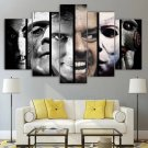Vintage Horror Wall Art Framed Decor Scary Movie Villains Canvas Painting Cult Classics Collection